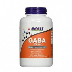 Now Foods Gaba 500 mg 200...